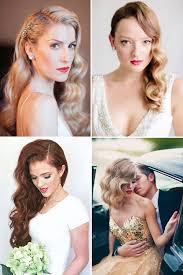 vintage hairstyles for weddings retro chic 28 vintage wedding hair ideas onefabday com