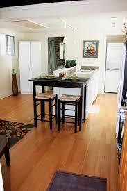 interior retro modern interior tiny house design alongside maple