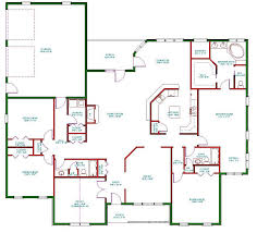 blue prints for a house single story house blueprints home mansion floor plans