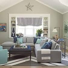 Coronado Showhouse Photo Tour Sofa Upholstery Sunbrella Fabric - Coastal living family rooms