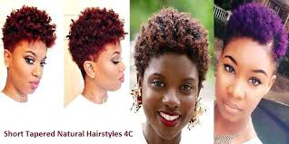 tapered natural hairstyles unique short natural hair with tapered sides short tapered