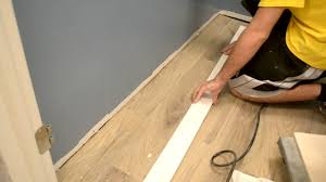 9 finishing basement tile trim finishing touches youtube