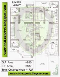 7 marla house plans civil engineers pk house map plan modern