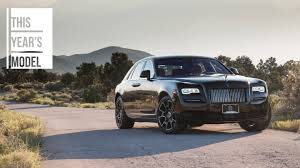 roll royce night rare 2017 rolls royce ghost black badge is a 400 000 apparition