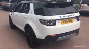 land rover discovery 2015 white land rover discovery sport sd4 hse white 2015 youtube
