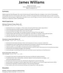 Resume Samples In Sales And Customer Service by Sales Manager Resume Sample Resumelift Com