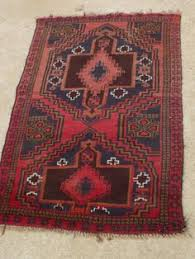 antique islamic baluch afghan prayer rug area wall hand knotted