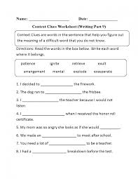 ideas of multiple meaning words worksheets middle on form