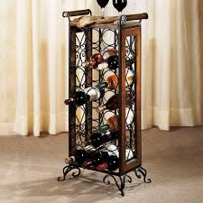 examples of the unique design of the wine rack furniture