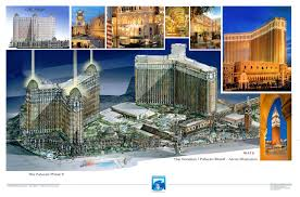 Venetian Las Vegas Map by Portfolio Design Earth Synergy