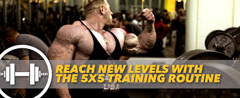 5x5 Bench Press Workout Reach New Levels With The 5x5 Training Routine Generation Iron