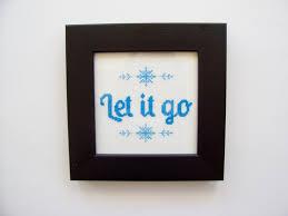 picture quotes let it go quote cross stitch pattern let it go pdf chart
