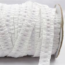 crochet elastic ribbon 1616222 16mm solid crochet flower fold elastic ribbon 1 yards
