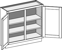 Kitchen Oven Cabinets Wall Oven Cabinet Depth