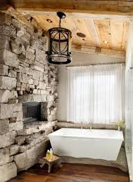 Bathrooms With Freestanding Tubs by Rustic Bathroom With Freestanding Tub Beautiful Rural Rustic
