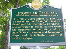 snowflake wilson bentley snowflake bentley historic marker located in the town gree u2026 flickr