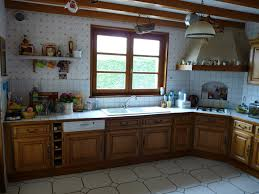 cuisine en chene repeinte renover sa cuisine en chene beautiful comment moderniser une