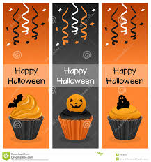 patrick s day cupcake vertical banners stock image image 36801951