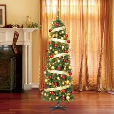 7 u0027 pre lit led wesley pine artificial christmas tree w warm white