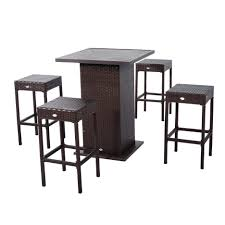 Patio Dining Furniture Sets - dining tables round outdoor dining table 6 person patio table