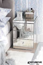 Mirrored Bedside Tables 37 Best Our Bedroom Images On Pinterest Mirrored Furniture