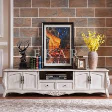 Tv Table Furniture Design With Wood White Antique Styled Furniture Design Wooden Tv Table Buy Wooden