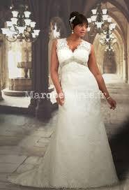 robe de mariã e ronde robe de mariée sirène à bretelles sans manche en dentelle dos nus
