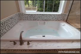 bathroom tub surround tile ideas new home building and design home building tips bathtub