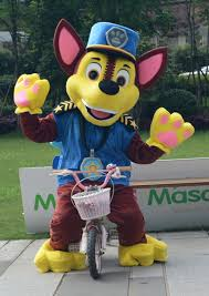 Mascot Costumes Halloween Patrol Chase Character Mascots Costume Chase Cartoon Cosplay