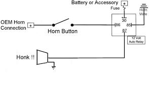 horn wiring diagram diagram wiring diagrams for diy car repairs