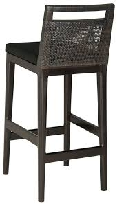 Backless Counter Stool Leather Sea4015a Barstools Furniture By Safavieh