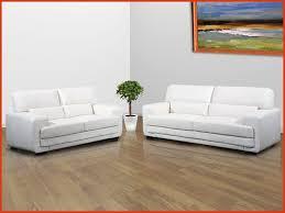 canap cuir blanc 2 places salon cuir blanc lovely canape salon cuir 3 2 places modena blanc
