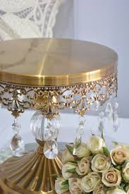 gold wedding cake stand hire 30cm gold vintage cake stand wedding hire melbourne events