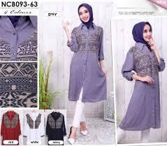 Baju Muslim Ukuran Besar baju muslim ukuran besar model big size murah bj2323