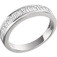 white gold eternity ring baguette cut diamond eternity ring in 18ct white gold pd197w