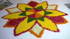 rangoli decoration services rangoli flower decoration from delhi india by florist