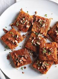 try this sweet potato pavé recipe for thanksgiving instyle