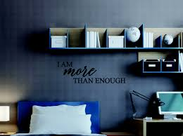 i more than enough positive wellness inspirational quotes wall decal loading zoom