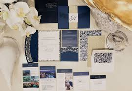 wedding invitations san antonio my diy story navy u0026 white laser doily pocket cards u0026 pockets