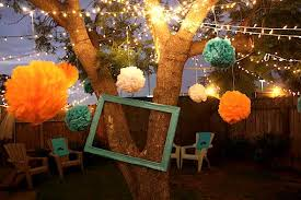 Summer Party Decorations Throw A Chic Backyard Bash Summer Party Decoration Inspirations