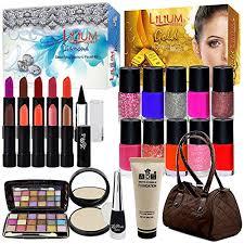 bridal makeup sets pack of 23 bridal makeup combo sets by adbeni at glowroad dkxki8