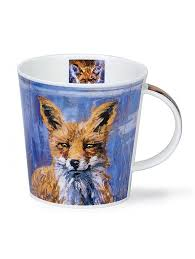 fox mug buy dunoon mugs in canada cairngorm animals in art fox red