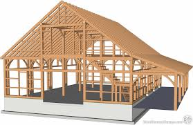charming gambrel barn kits 8 36x48 saratoga frame sutton ma 0