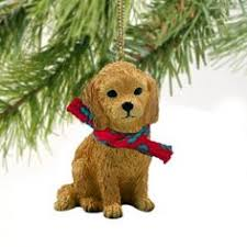 to the world collectibles goldendoodle ornament available at