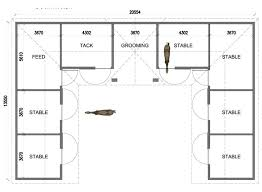 10 Stall Horse Barn Plans U Shaped 6 Stall Horse Barn Except I Would Put The Tack In The