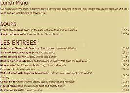 ma cuisine restaurant ma cuisine bistrot menu menu for ma cuisine bistrot kew
