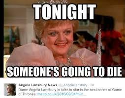 Angela Lansbury Meme - angela lansbury la signora in giallo in splendida forma a 92 anni