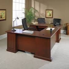 Sauder Office Desks Heritage Hill Executive Desk 109843 Sauder