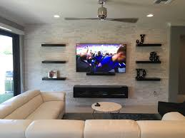 Pretty Ceiling Fan Furniture Wall Mount Entertainment Center In Dark With Modern
