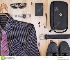 men set set of men s accessories stock photo image of stylish 42380094